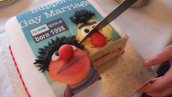 La torta de la discordia.