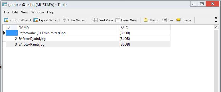 Tanya cara menampilkan data Image dari Mysql ke ...