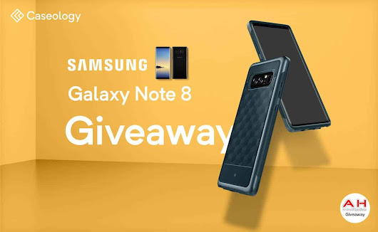 Win A Galaxy Note 8 With Caseology & AndroidHeadlines