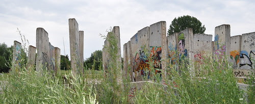 Mauerreste in Teltow