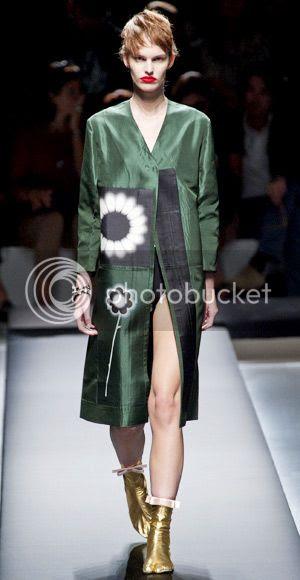 Prada Spring 2013: Milan Fashion Week