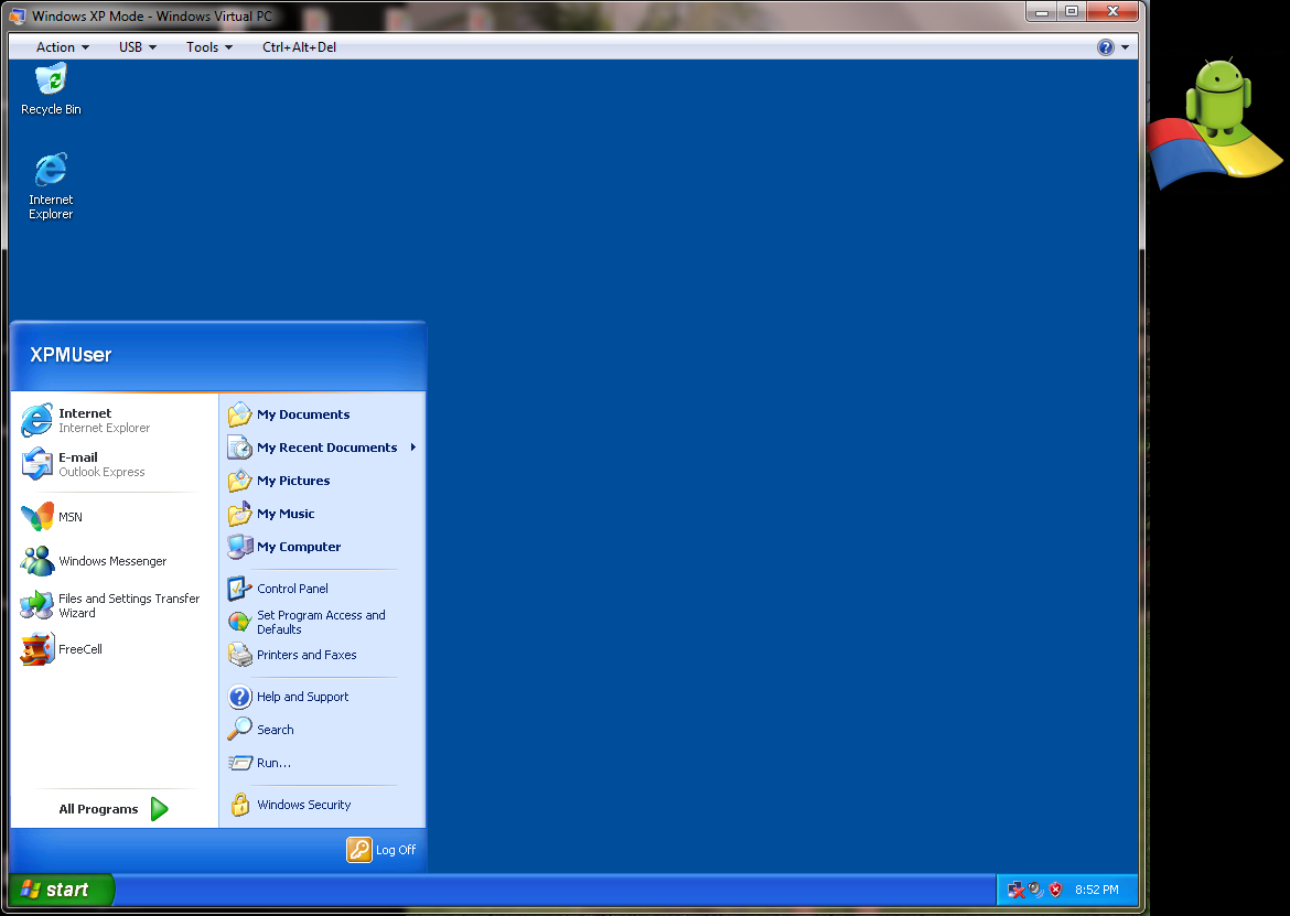 Windows XP virtual PC on http://outdatedpenanguncle.blogspot.com/