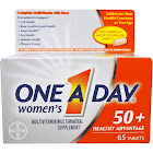 One A Day Women's 50+, Tablets - 65 tablets