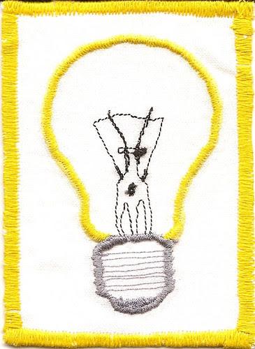 l is for lightbulb