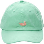 Southern Marsh Washed Logo Hat | Washed Bimini Green w/ Melon Duck