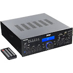 Pyle Compact 200 Watt Bluetooth Home Stereo Amplifier Receiver System (4 Pack) at Spreetail (VMinnovations   VM Express)
