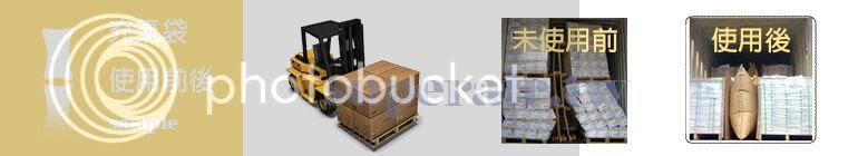 貨櫃充氣袋 使用範例