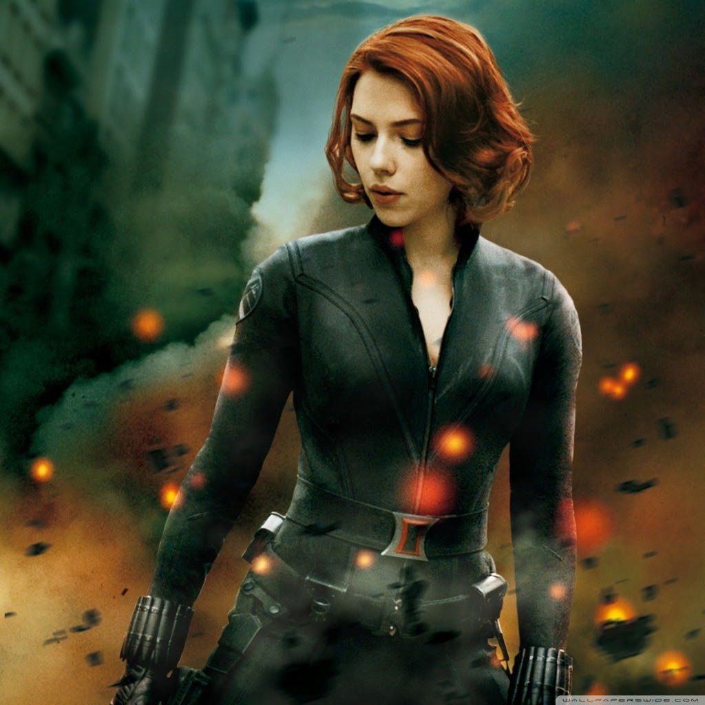 Black Widow The Avengers Wallpapers Pixell Wallpapers
