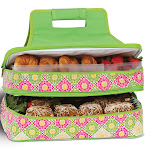 Picnic Plus Entertainer Hot & Cold Food Carrier - Green Gazebo