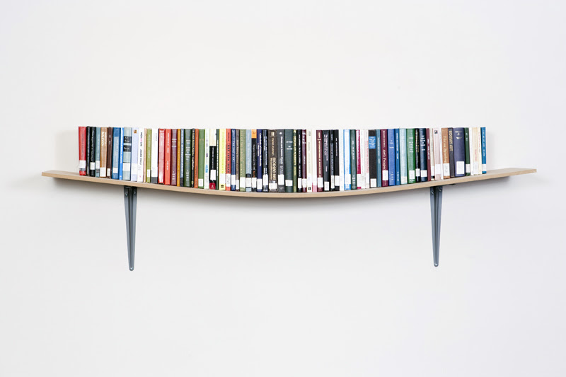Display Book Shelf Daniel Eatock