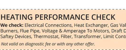 Specials | General Heating & Air Conditioning