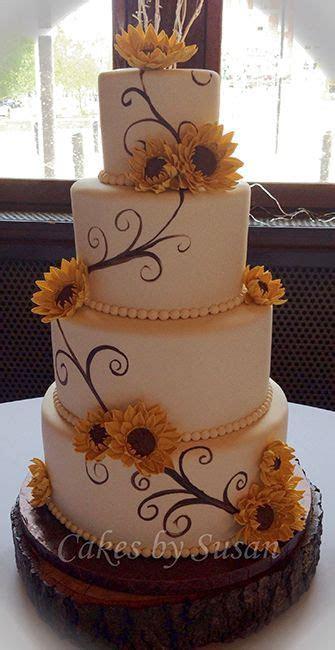 Best 25  Fall wedding cakes ideas on Pinterest   Orange