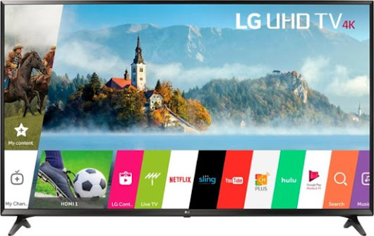 "LG - 43"" Class (43"" Diag.) - LED - 2160p - Smart - 4K Ultra HD TV"