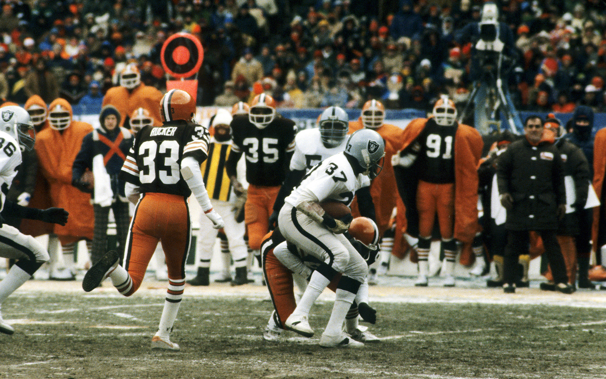 1980 AFC DIVISIONAL GAME  BadWeather NFL Games  ESPN