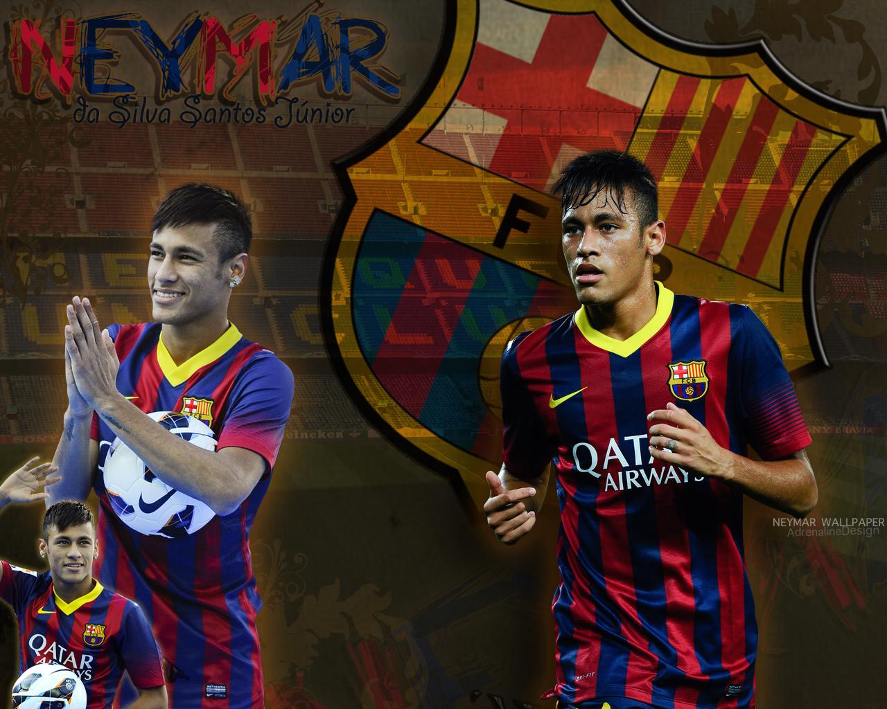 Neymar Fc Barcelona Wallpaper by AdrenaliineDesign on ...