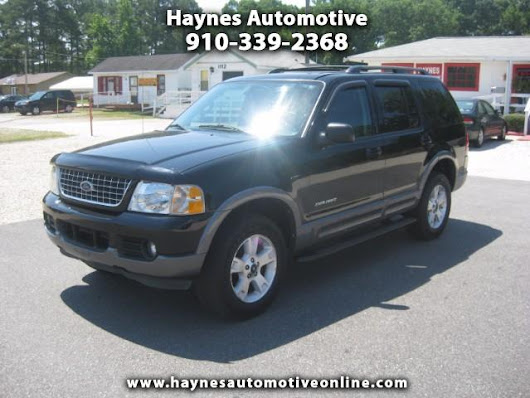 Used 2004 Ford Explorer NXB 4.0L 4WD for Sale in Fayetteville NC 28303 Haynes Automotive