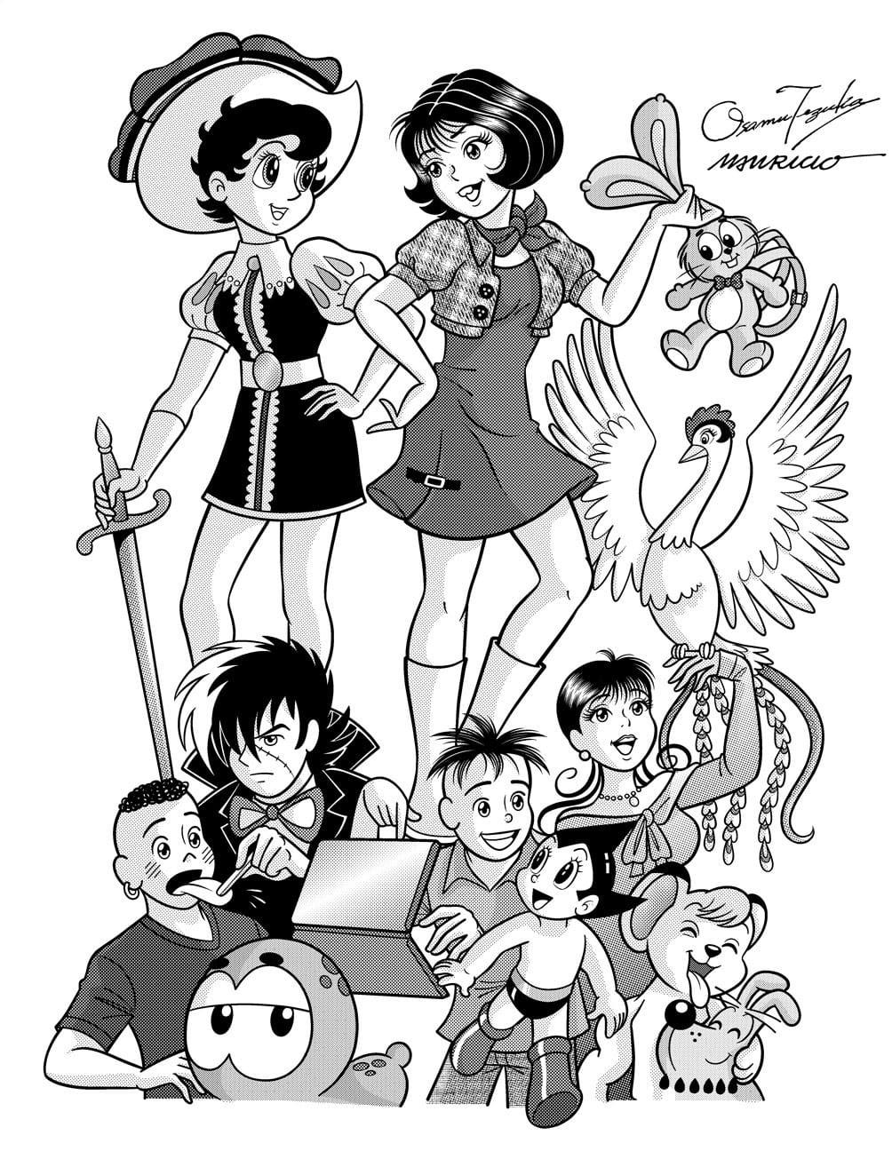 Desenhos Para Colorir Da Turma Da Monica Jovem E Imprimir