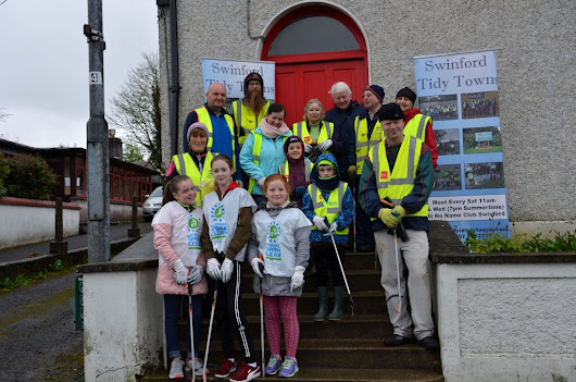 Successful 2017 Swinford Spring Clean | Swinford Tidy Towns