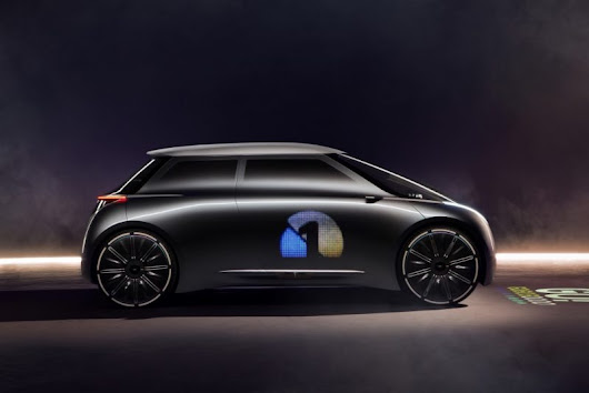 US premiere of the MINI VISION NEXT 100