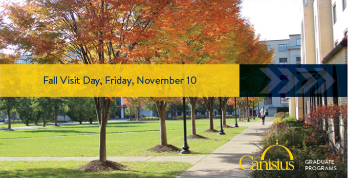 Graduate Admissions Fall Information Sessions | Today@Canisius