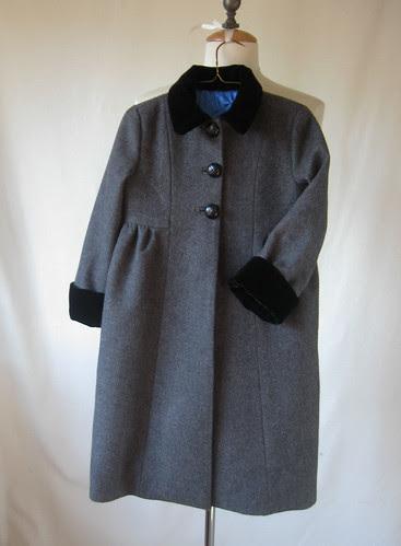 Grey coat front