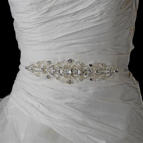 Vintage Rhinestone Bridal Belt   Elegant Bridal Hair