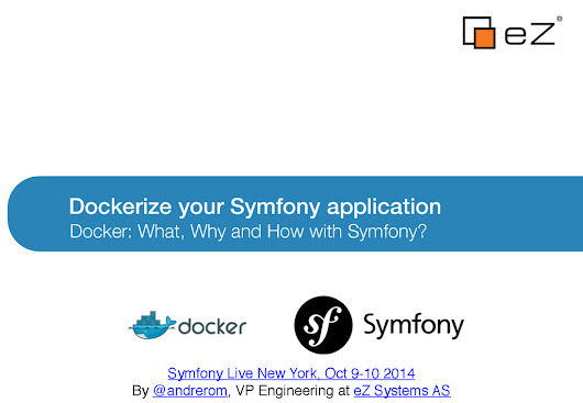 Dockerize your Symfony application