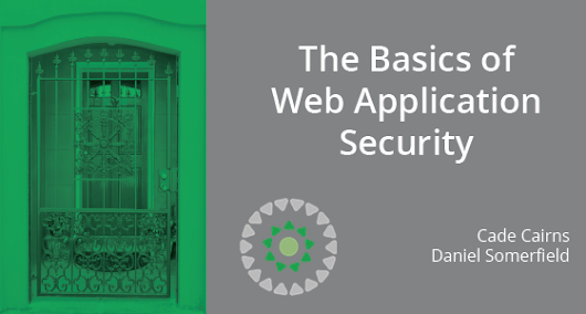The Basics of Web Application Security