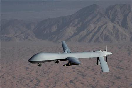 A MQ-1 Predator unmanned aircraft in an undated photo. REUTERS/U.S. Air Force