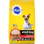 Pedigree Food for Dogs, Steak & Vegetable Flavor, Small Dog - 15.9 lb
