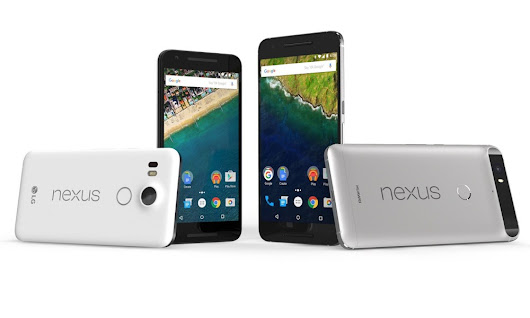 Google Nexus 6P and 5X won't be updated to Android P