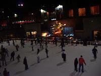 Pista de patinaje en Rockefeller Center