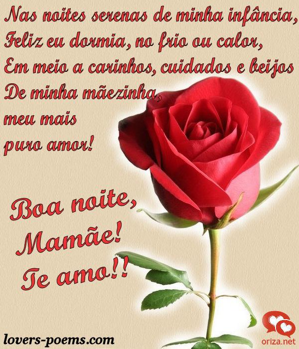 Boa Noite Mamãe Te Amo Orizanet Portal Gifs By Oriza