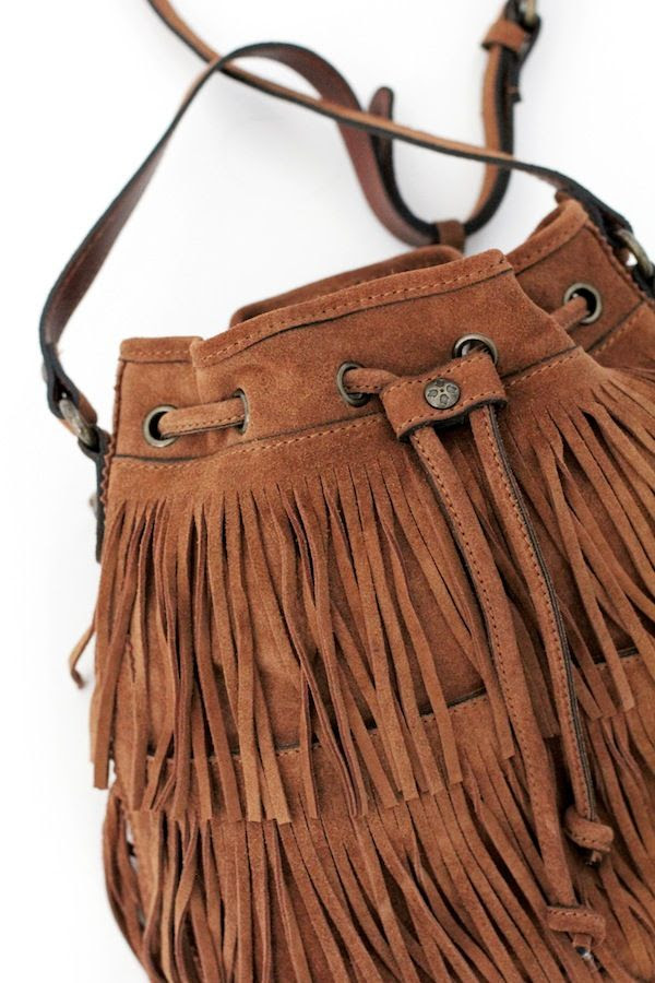 Le Fashion Blog Neutral Fall Style Brown Tan Patricia Nash Suede Bronte Bucket Bag With Fringe