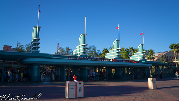 Disneyland Resort, Main Entrance Plaza, Disney California Adventure