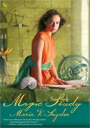 book cover of   Magic Study    (Study, book 2)  by  Maria V Snyder