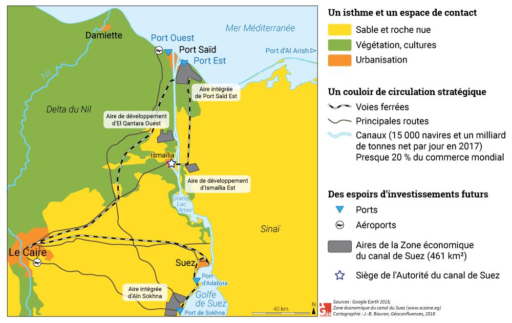 Le Canal De Suez Les Nouvelles Dimensions Dune Voie De