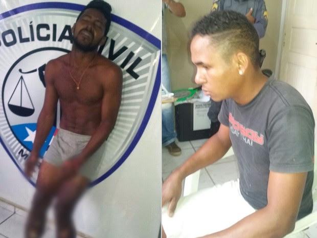 Dois dos quatro suspeitos pelo crime foram presos (Foto: Divulgação/PM-MA)