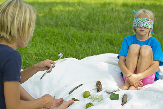 Outdoor Memory Game: A Fun, Forest-School Inspired Nature Activity for Preschool and Beyond