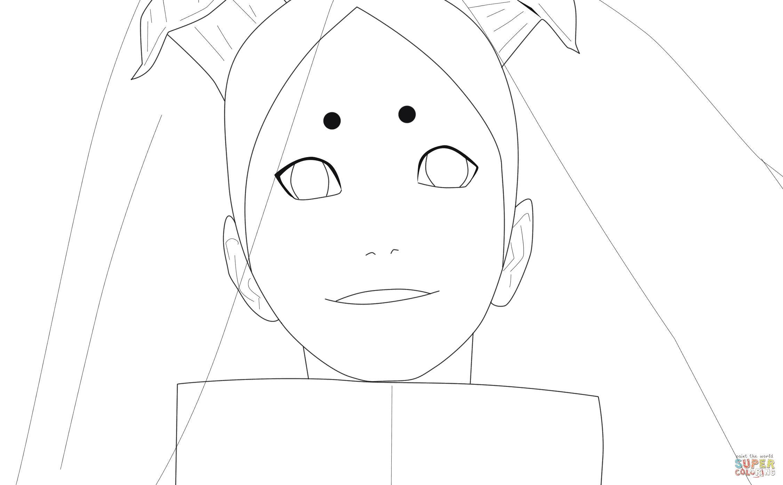 Dibujo De Momoshiki Otsutsuki Para Colorear Dibujos Para Colorear
