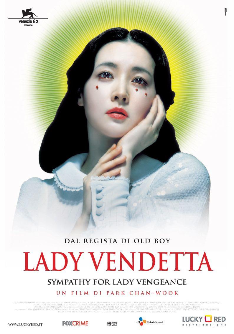 Risultati immagini per sympathy for lady vengeance movie poster