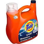 Tide Plus Febreze Sport Active Fresh High Efficiency Liquid Laundry Detergent - 138 fl oz