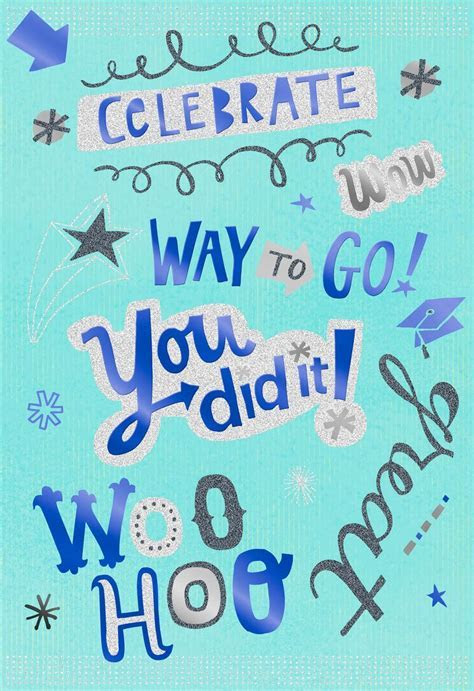 Hats Off to You Graduation Card   Greeting Cards   Hallmark