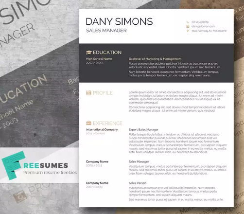 Downloadable Free Modern Resume Templates For Word Best Resume