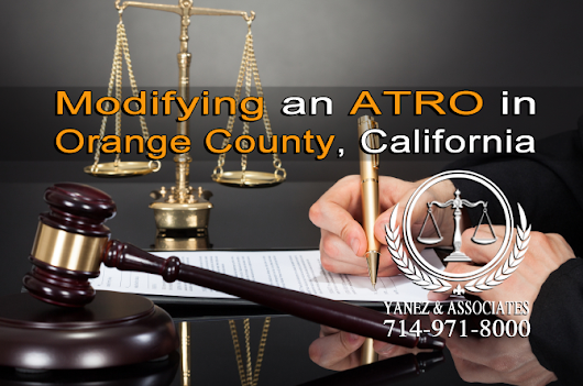 What is an Automatic Temporary Restraining Order ATRO