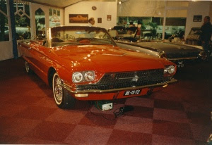 Ford Thunderbird in Expohal Hilversum