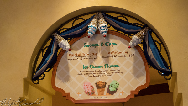 Disneyland Resort, Disneyland60, Disney California Adventure, Buena, Vista, Street, Clarabelle, Ice, Cream