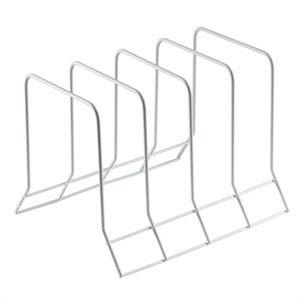 Tidy Pan Lid Bakeware Rack Storage Holder Organiser - End Kitchen Cupboard Clutter!