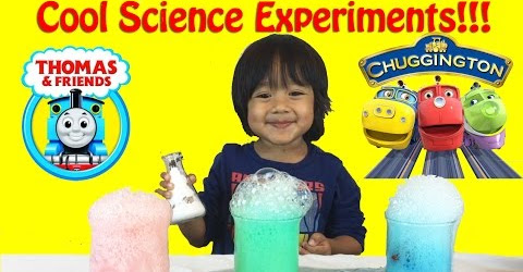 Science Experiment for Kids with elephant toothpaste and baking soda and vinegar