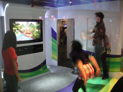E3 2010 Xbox 360 Kinect demo booth